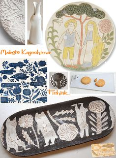 Fishinkblog 8716 Makoto Kagoshima 9 Check out my blog ramblings and arty chat here www.fishinkblog.w... and my stationery here www.fishink.co.uk , illustration here www.fishink.etsy.com and here carbonmade.com/.... Happy Pinning ! :)