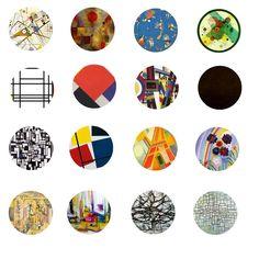 Abstract Art Free Bottle Cap Images by Folie du Jour