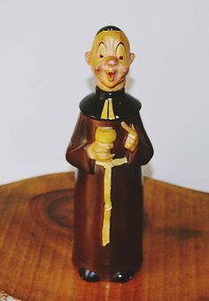 Rare Goebel Monk Decanter, Goebel Collectible, Monk Bottle With Cork from Collectitorium on Etsy. Christmas Gifts For Him, Christmas Sale, Cork Crafts, Bottle Crafts, German Star, Wood Owls, Star Show, Home Decor Wall Art, Vintage Wood