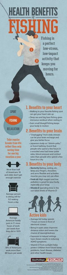 Health Benefits of Fishing   Who knew this survival sport could benefit more than your belly?   Fishing Tips and Tricks and DIY Fishing Gear at Survival Life Blog : survivallife.com
