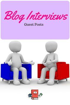 Blog Interviews - Guest Posts