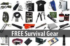 Free Survival Gear