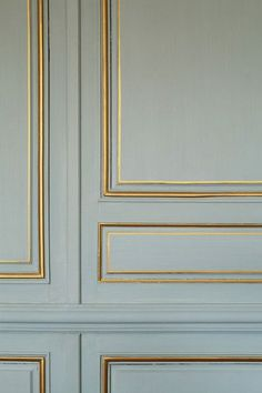 French inspired coloured moulding