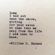 Upon the Shore by William C. Hannan