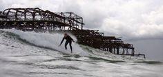 Brighton surfing ..