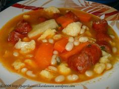 Hungarian Recipes, Dutch Oven, Chana Masala, Soup Recipes, Zucchini, Spaghetti, Food And Drink, Meals, Ethnic Recipes