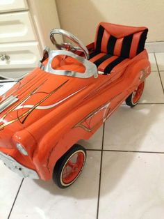 vintage pedal car. ....Like going fast? Call or click: 1-877-INFRACTION.com (877-463-7228) for local lawyers aggressively defending Traffic Tickets, DUIs and Suspended Licenses throughout Florida