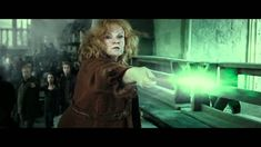 Molly Weasley vs Bellatrix Lestrange. I remember all the clapping and cheering in the theatre!