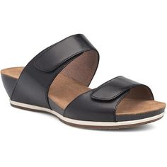 Shop Footwear with Bur-Mar's Family Owned Shoe Store. Boots, Shoes, Heels, Sandals, and more! Black Wedge Sandals, Wedge Heels, Shoes Sandals, Sandals Outfit, Comfortable Jeans, Dansko Shoes, Ankle Straps, Womens Shoes Wedges, New Shoes
