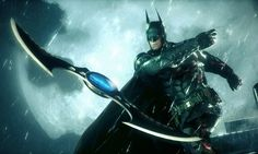 Holy gizmos and thingamabobs, Batman! Be the Batman and use all the gadgets at the Caped Crusader's disposal when Batman: Arkham Knight hits stores on June Batman Wallpaper, Batman Arkham Knight Wallpaper, Hd Wallpaper, Wallpaper Pictures, Robert Pattinson, Dc Comics, Gotham City, Arkham Knight Pc, Marvel
