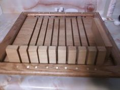Handcrafted Soap Cutter. Made upon request, at Smokey valley Homestead