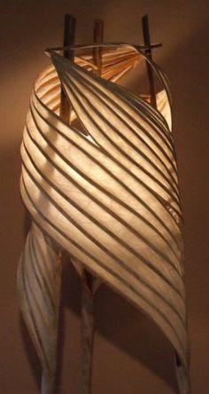 wendy dunder illuminated paper sculptures. oregon