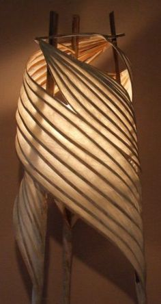 wendy dunder illuminated paper sculptures. oregon