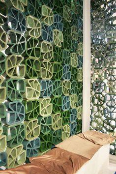 tegole smaltate, frangisole, facciate ventilate, portabottiglie - Ceipo Ceramiche