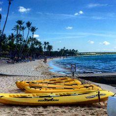 Bayahibe Beach in the Dominican Republic.