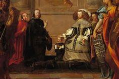 Felipe IV - El príncipe Carlos - Mariana de Austria   La Apoteosis de la Virgen de Pietro del Po   Catedral de Toledo - 1662