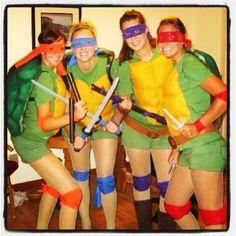 Ninja Turtles . DIY . Halloween Costumes .