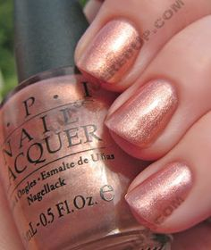 ALU Archives - OPI Cozu-melted In The Sun Swatch