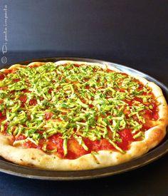 Di pasta impasta: Pizza con zucchine e pomodoro a lievitazione natur...