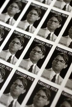 gregory peck commemorative stamp