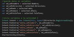 VBpuntoNet: Envia variables a otra actividad Xamarin Android