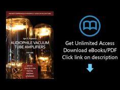 Download Audiophile Vacuum Tube Amplifiers - Design, Construction, Testing, Repairing & Upgradin PDF - Tronnixx in Stock - http://www.amazon.com/dp/B015MQEF2K - http://audio.tronnixx.com/uncategorized/download-audiophile-vacuum-tube-amplifiers-design-construction-testing-repairing-upgradin-pdf/