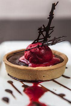 BYVISUEL - Restaurant PMPV - Tarte Chocolat Framboise
