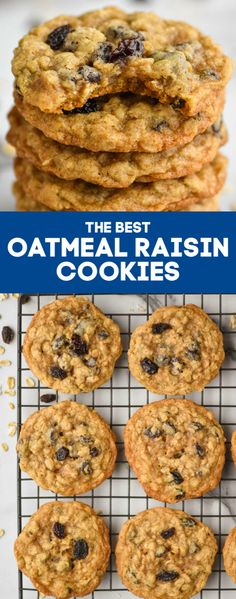 oatmeal cookies with quick oats - oatmeal cookies - oatmeal cookies easy - oatmeal cookies healthy - oatmeal cookies chewy - oatmeal cookies recipes - oatmeal cookies chocolate chip - oatmeal cookies easy 2 ingredients - oatmeal cookies with quick oats Soft Oatmeal Raisin Cookies, Healthy Oatmeal Cookies, Oatmeal Cookie Recipes, Chocolate Chip Oatmeal, Easy Cookie Recipes, Oatmeal Raisins Cookie Recipe, Recipe With Oatmeal, Chocolate Oatmeal Cookies, Dessert Recipes