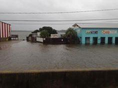 Mikey's On The Bayou, Ocean Springs, MS Hurricane Isaac 8/29/12