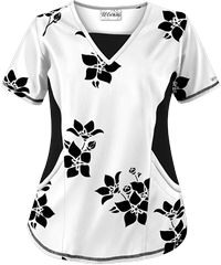Print Scrub Tops and Print Nursing Scrubs at Uniform Advantage White Scrub Tops, White Scrubs, Scrubs Outfit, Scrubs Uniform, Scrub Shoes, Scrubs Pattern, Medical Scrubs, Nurse Scrubs, Nurse Costume