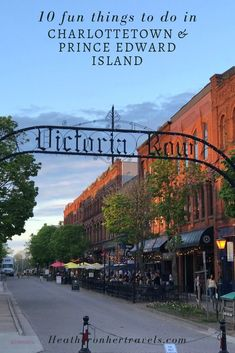 Discover 10 fun things to do in Charlottetown and Prince Edward Island in Canada, with pretty PEI lighthouses, seafood and Anne of Green Gables connections. Quebec, Ottawa, Montreal, Nova Scotia Travel, Toronto, Road Trip, East Coast Travel, Visit Canada, Saint Jean