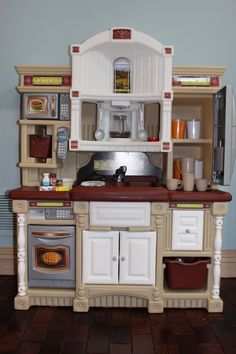 Who doesn't like to cook? Every #kid has to have one of these. #toy #kitchen