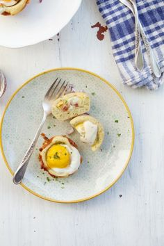 Super brunch all-in-one eggy cups perfect for Mother's Day brunch!