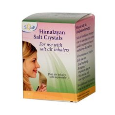Enjoy Squip Products Himalayan Salt Crystals - 3 Refills every day at these amazing prices! SQuip Himalayan Salt Crystals Description: Salt Air Inhaler For use with the Salitair Salt Air Inhaler and t Health And Beauty, Health And Wellness, Salt Inhaler, Clean Lungs, Pink Sea Salt, Himalayan Salt Crystals, Healthy Oils, Organic Recipes, Cool Things To Buy