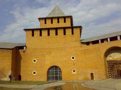 Tour Ivanovo - Le Kremlin - Fortifications - Nijni-Novgorod - Construites en Pierre de 1500 à 1511 par l'architecte Pietro Francesco. Nizhny Novgorod, Tour, Journey, Stone, The Journey