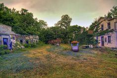 Deserted Places: Joyland: An abandoned amusement park in Kansas.