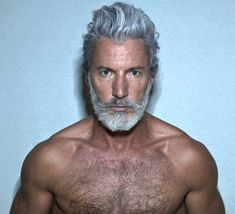 Yeees, old white man! --- Aiden Shaw gets more stunning with age.