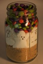 S'Mores In A Jar - seasonal, just use the current season's Peeps.