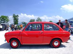 The fiat 850! My promise to myself: One day I will drive one of these around europe