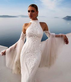 Gorgeous white evening dress all the beauty things...