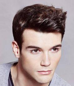 Scissor Fade haircut for men
