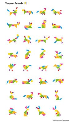 Tangram animals