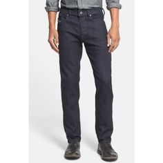 DIESEL 'Buster' Straight Leg Jeans (0607A) 0607A 31 x 34 - product - Product Review
