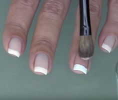 fool-proof way to do salon-quality french manicure at home