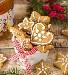 Kruche ciasteczka cytrynowe z pineapple curd - Domowe wypieki Gingerbread Cookies, Nutella, Cookie Cutters, Desserts, Christmas, Creative Food, Crack Crackers, Creativity, Recipes