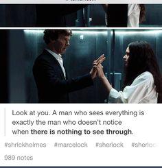 Sherlock and Eurus.