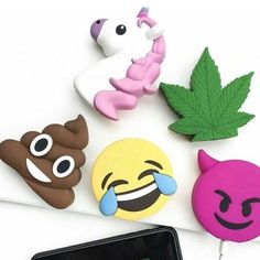 Meet Powermojiz We offer unique cute emoji Powerbanks Meet the Posher Other