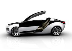 Futuristic SAAB Viggen Car
