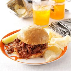 Super Sloppy Joes Recipe -Mother made these fresh-tasting sloppy joes many times when I was growing up. She passed the recipe on to me when I got married. My brother-in-law says they're the best sandwiches he's ever tasted. And he ought to know—his name is Joe! —Ellen Stringer, Bourbonnais, Illinois