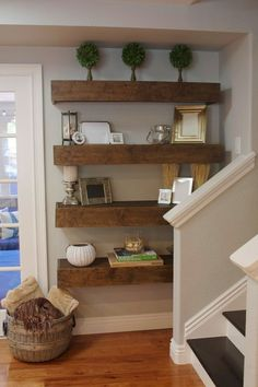 The easiest DIY floating shelf tutorial!The easiest DIY floating shelf tutorial!CabinetsAndDesign...